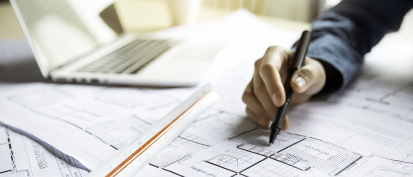 Specifying plans for a building